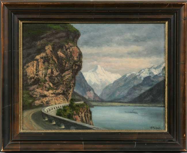 Rudolph Tschudi Cinti 1885 1923 O B Quot Cliff Road
