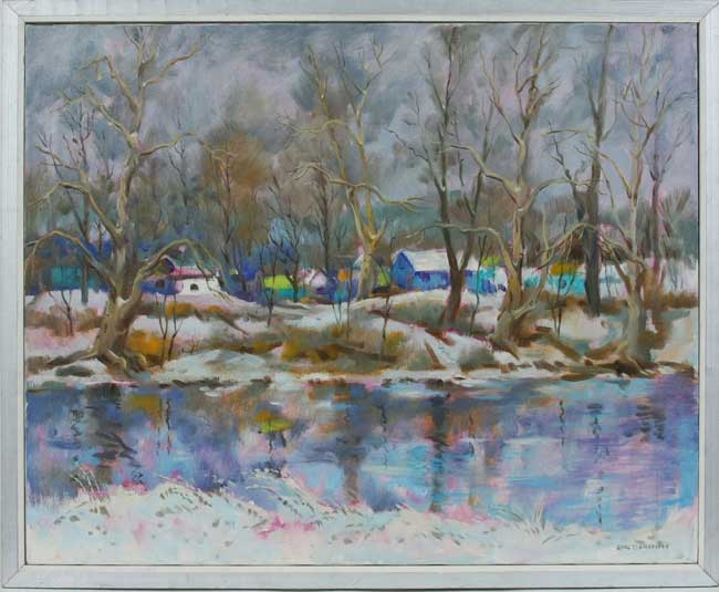 Carl John Zimmerman Cinti 1900 1985 O C Colorful
